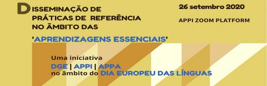 Encontro online DGE / APPI / APPA